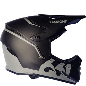 SixSixOne Reset Fullface Helm midnight black